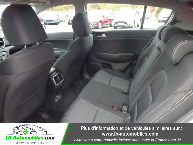 Kia Sportage 1.6 CRDi 115 4x2 Blanc occasion à Beaupuy - photo n°5