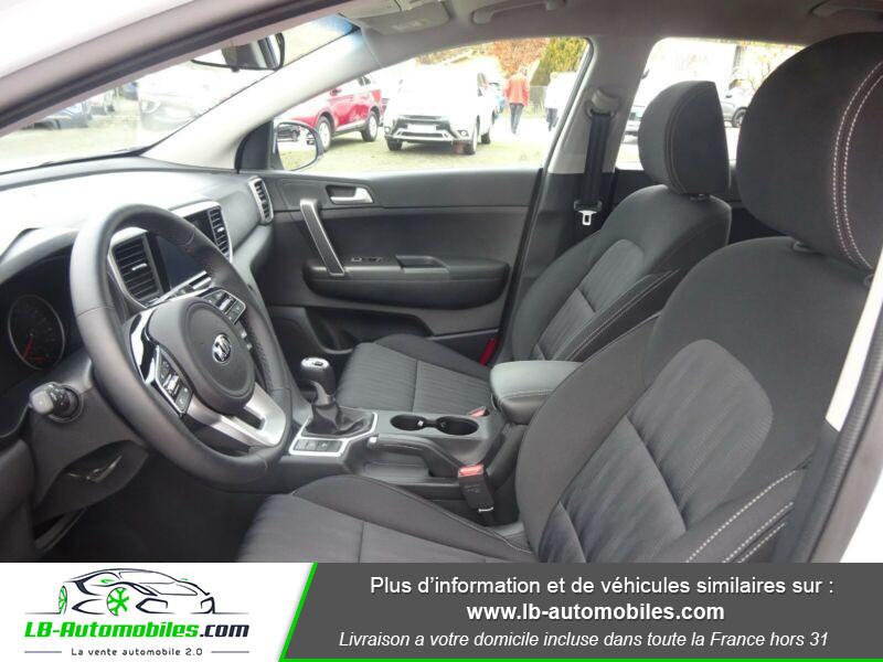 Kia Sportage 1.6 CRDi 115 4x2 Blanc occasion à Beaupuy - photo n°4
