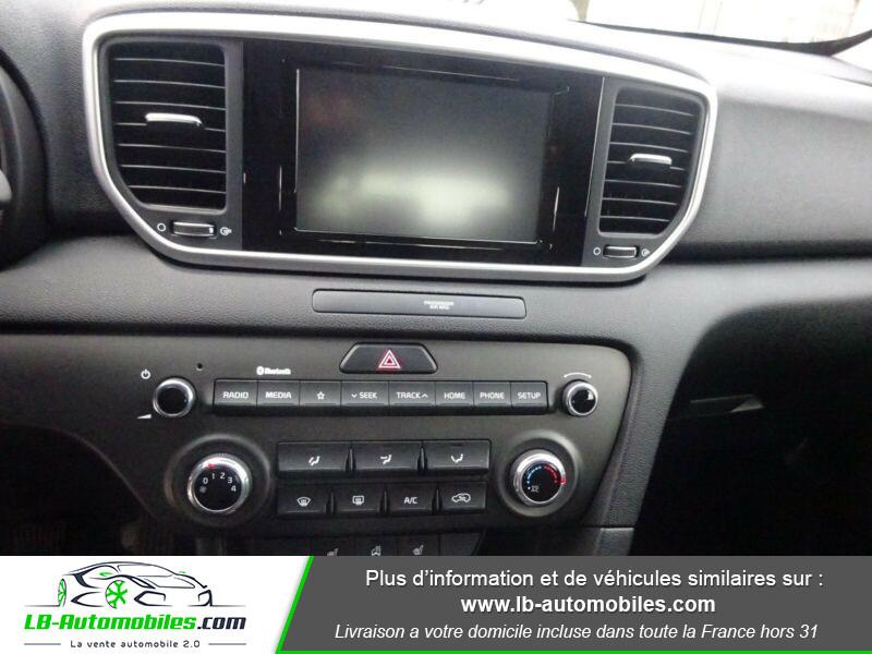 Kia Sportage 1.6 CRDi 115 4x2 Blanc occasion à Beaupuy - photo n°7