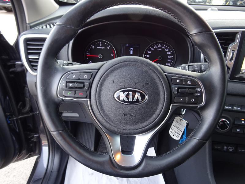Kia Sportage 1.6 CRDi 115ch ISG Active 4x2 Gris occasion à Barberey-Saint-Sulpice - photo n°9