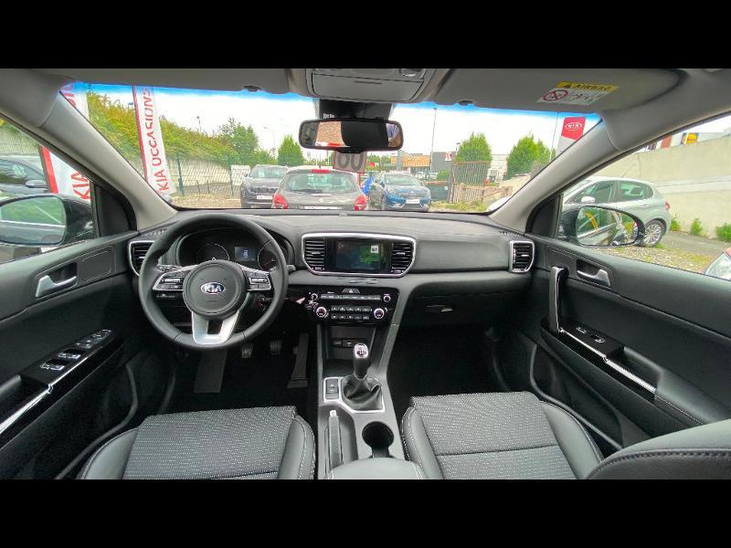 Kia Sportage 1.6 CRDi 115ch ISG Design 4x2 Noir occasion à Garges-lès-Gonesse - photo n°12