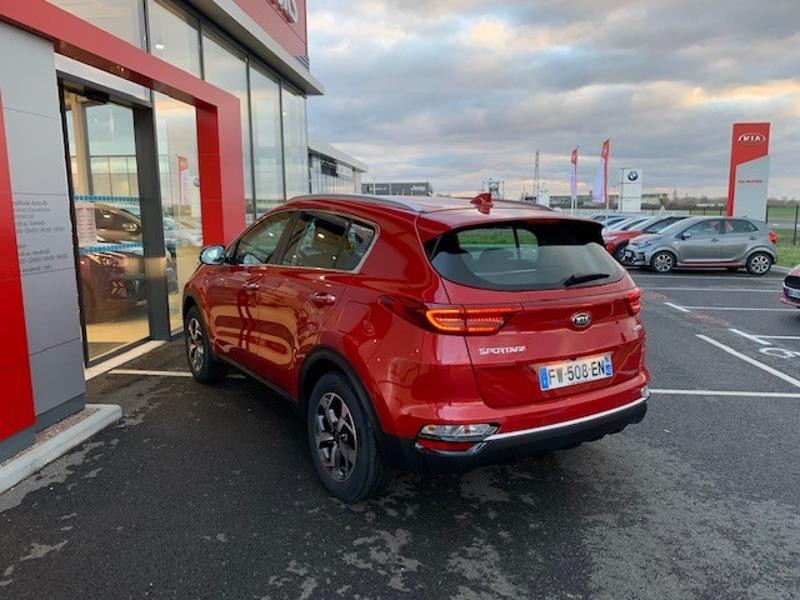 Kia Sportage 1.6 CRDi 115ch MHEV Active 4x2 Rouge occasion à Amilly - photo n°5