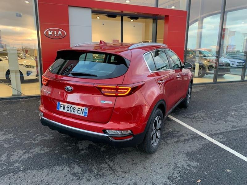 Kia Sportage 1.6 CRDi 115ch MHEV Active 4x2 Rouge occasion à Amilly - photo n°7