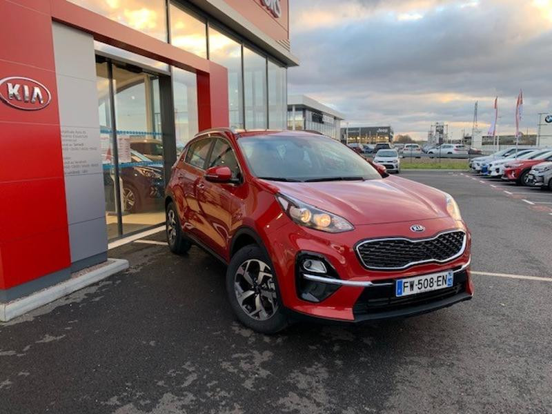 Kia Sportage 1.6 CRDi 115ch MHEV Active 4x2 Rouge occasion à Amilly - photo n°2