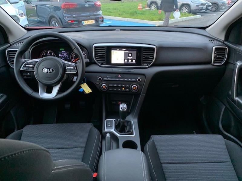 Kia Sportage 1.6 CRDi 115ch MHEV Active 4x2 Rouge occasion à Amilly - photo n°11