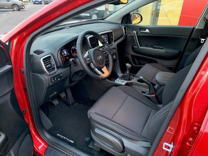 Kia Sportage 1.6 CRDi 115ch MHEV Active 4x2 Rouge occasion à Amilly - photo n°8