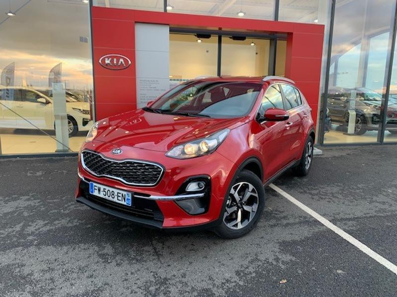 Kia Sportage 1.6 CRDi 115ch MHEV Active 4x2 Rouge occasion à Amilly - photo n°4