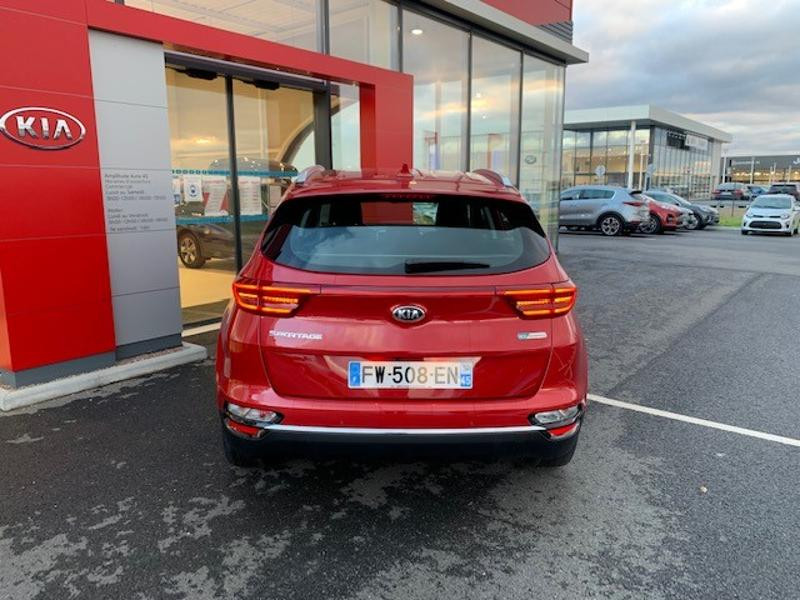Kia Sportage 1.6 CRDi 115ch MHEV Active 4x2 Rouge occasion à Amilly - photo n°6