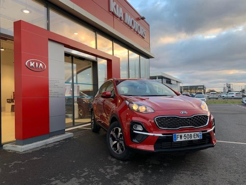 Kia Sportage 1.6 CRDi 115ch MHEV Active 4x2 Rouge occasion à Amilly