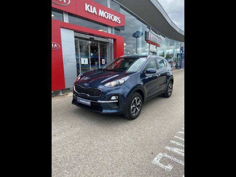Kia Sportage 1.6 CRDi 115ch MHEV Active 4x2 Bleu occasion à Barberey-Saint-Sulpice