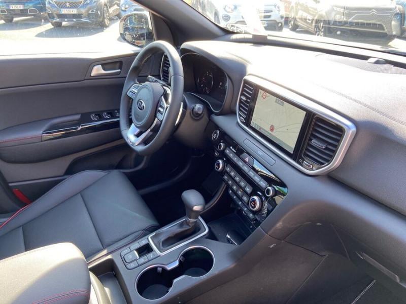 Kia Sportage 1.6 CRDI 136 DCT7 2WD MHEV GT LINE PREMIUM Blanc occasion à Toulouse - photo n°10