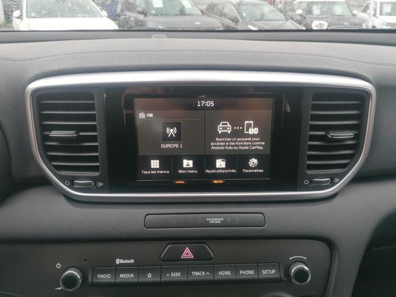 Kia Sportage 1.6 GDi 132ch ISG Active 4x2 Noir occasion à Jaux - photo n°15