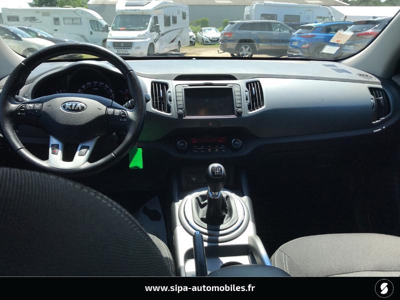 Kia Sportage 1.6 GDi 135ch ISG Active 4X2 Noir occasion à La Teste-de-Buch - photo n°3