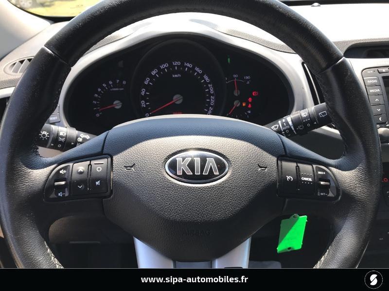 Kia Sportage 1.6 GDi 135ch ISG Active 4X2 Noir occasion à La Teste-de-Buch - photo n°10