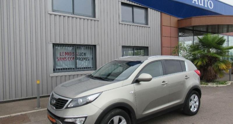 Kia Sportage 1.7 CRDi 115 2WD Active SmartDrive Jaune occasion à Saint Parres Aux Tertres