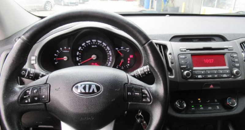 Kia Sportage 1.7 CRDi 115 2WD Active SmartDrive Jaune occasion à Saint Parres Aux Tertres - photo n°6
