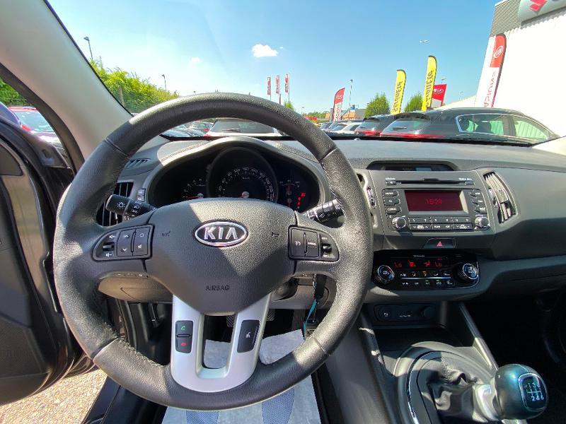 Kia Sportage 1.7 CRDi 115 Active SmartDrive Marron occasion à Garges-lès-Gonesse - photo n°3