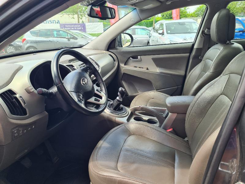 Kia Sportage 1.7 CRDi 115 Premium ISG Gris occasion à Vert-Saint-Denis - photo n°9