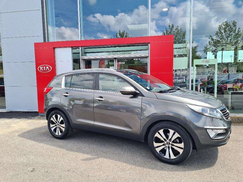 Kia Sportage 1.7 CRDi 115 Premium ISG Gris occasion à Vert-Saint-Denis - photo n°2