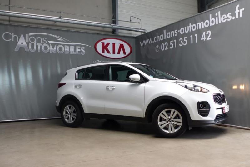 Kia Sportage 1.7 CRDI 115CH ISG ACTIVE 4X2 Blanc occasion à Challans