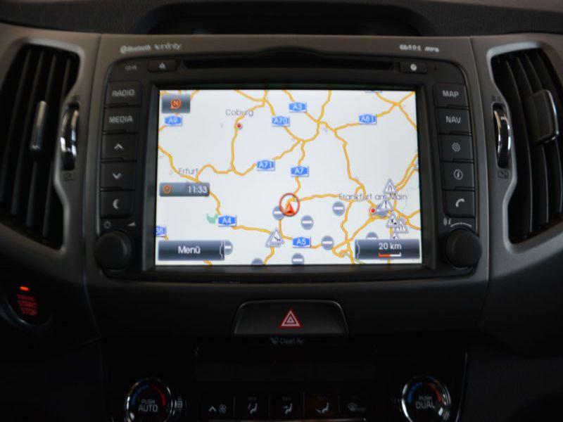 Kia Sportage 1.7 CRDI 116 Gris occasion à Beaupuy - photo n°6