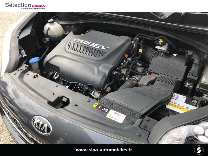 Kia Sportage 2.0 CRDi 136ch ISG GT Line 4x2 Gris occasion à Le Bouscat - photo n°13