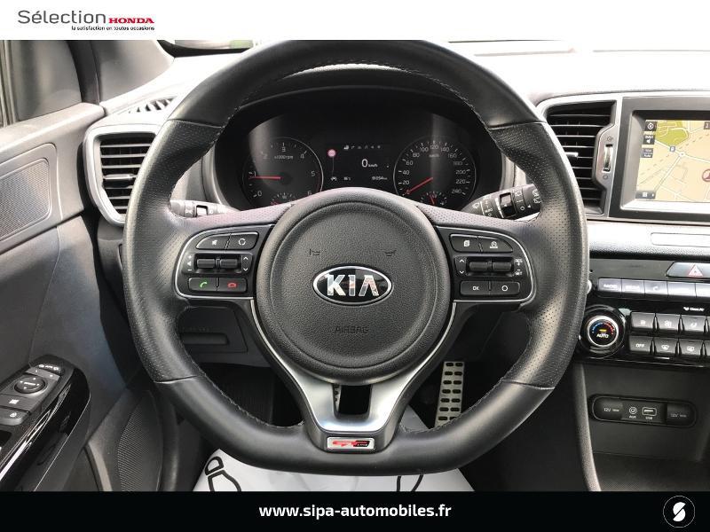 Kia Sportage 2.0 CRDi 136ch ISG GT Line 4x2 Gris occasion à Le Bouscat - photo n°6