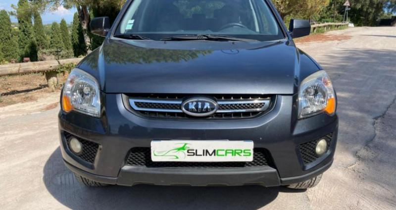 Kia Sportage II 2.0 CRDI140 Active 4x2 Noir occasion à MOUGINS - photo n°3