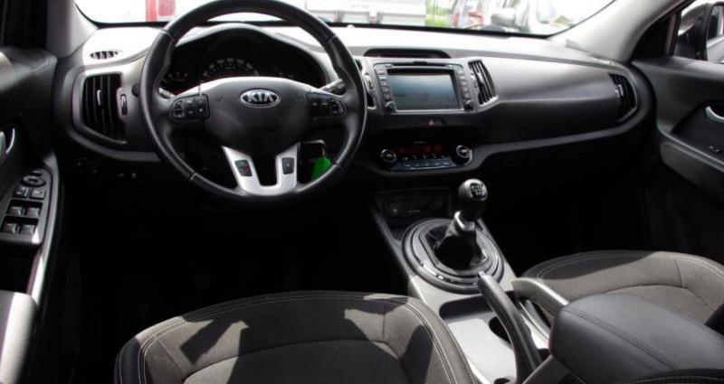 Kia Sportage III 1.7 CRDI 115 ACTIVE 2WD Noir occasion à Chambourcy - photo n°2