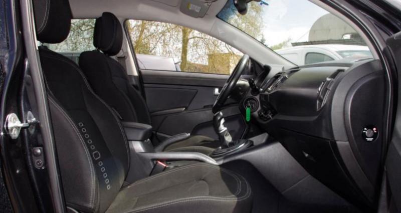 Kia Sportage III 1.7 CRDI 115 ACTIVE 2WD Noir occasion à Chambourcy - photo n°3