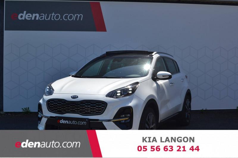 Kia Sportage Sportage 1.6 CRDi 136ch MHEV ISG DCT7 4x2 GT Line Premium 5p Blanc occasion à Toulenne