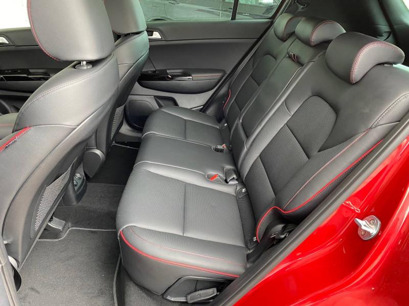 Kia Sportage Sportage 1.6 CRDi 136ch MHEV ISG DCT7 4x2 GT Line Premium 5p Rouge occasion à Bruges - photo n°4