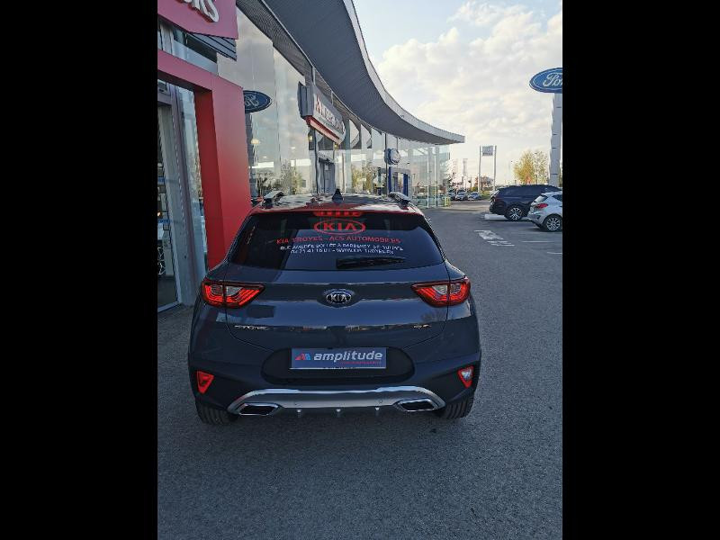 Kia Stonic 1.0 T-GDi 120ch MHEV GT Line DCT7 Gris occasion à Barberey-Saint-Sulpice - photo n°17