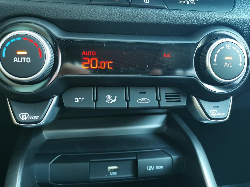 Kia Stonic 1.0 T-GDi 120ch MHEV GT Line DCT7 Gris occasion à Barberey-Saint-Sulpice - photo n°13