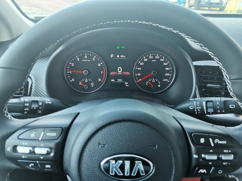 Kia Stonic 1.0 T-GDi 120ch MHEV GT Line DCT7 Gris occasion à Barberey-Saint-Sulpice - photo n°7