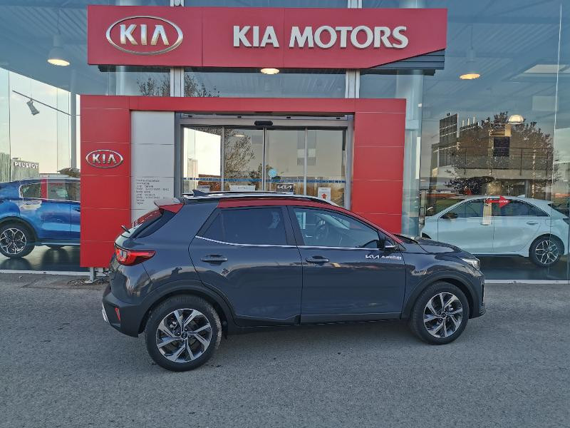 Kia Stonic 1.0 T-GDi 120ch MHEV GT Line DCT7 Gris occasion à Barberey-Saint-Sulpice - photo n°15