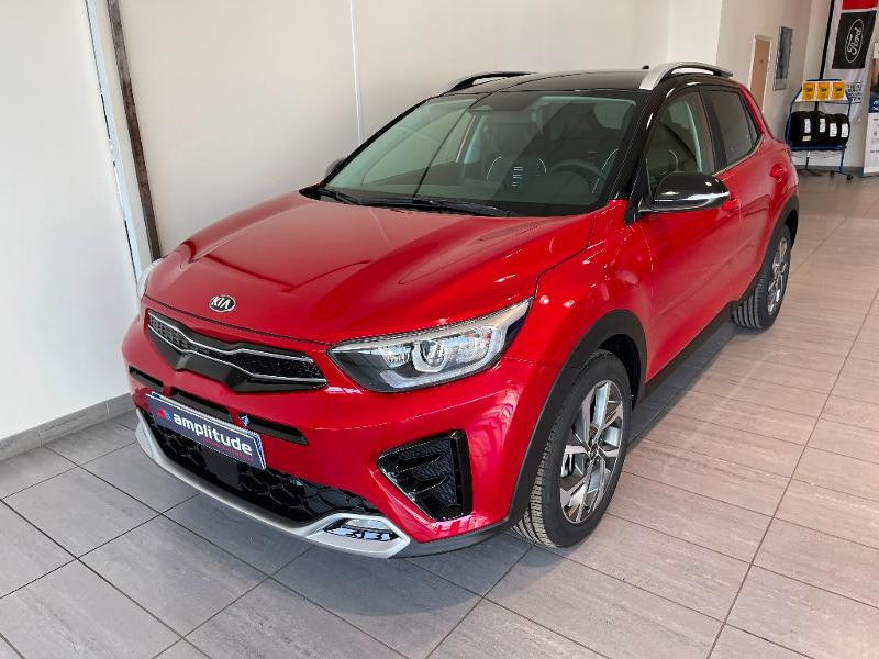 Kia Stonic 1.0 T-GDi 120ch MHEV GT Line iBVM6 Rouge occasion à Chaumont