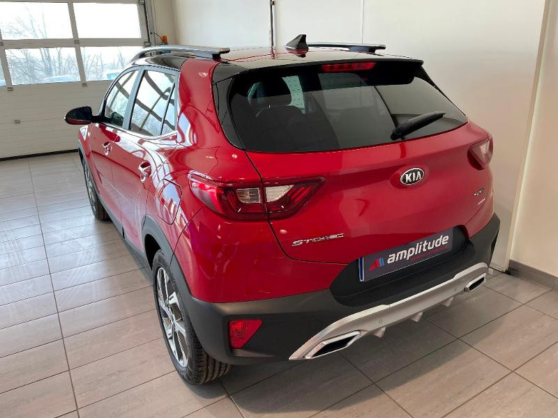 Kia Stonic 1.0 T-GDi 120ch MHEV GT Line iBVM6 Rouge occasion à Chaumont - photo n°4