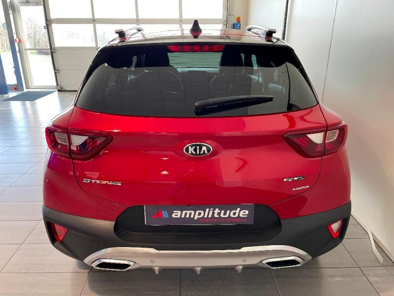 Kia Stonic 1.0 T-GDi 120ch MHEV GT Line iBVM6 Rouge occasion à Chaumont - photo n°5