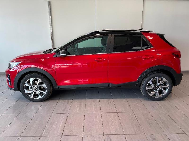 Kia Stonic 1.0 T-GDi 120ch MHEV GT Line iBVM6 Rouge occasion à Chaumont - photo n°3