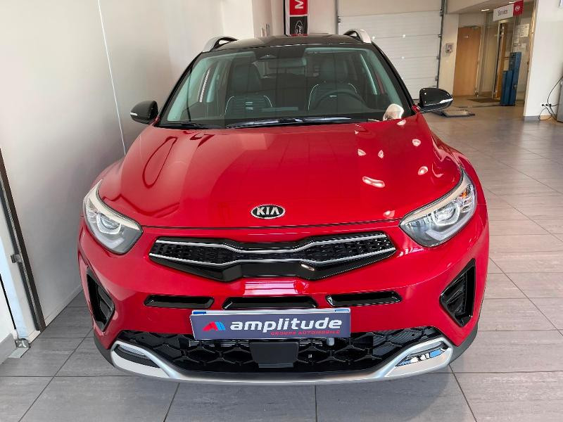 Kia Stonic 1.0 T-GDi 120ch MHEV GT Line iBVM6 Rouge occasion à Chaumont - photo n°2