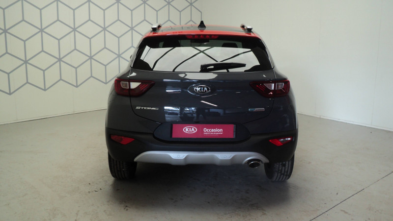 Kia Stonic Stonic 1.0 T-GDi 100ch MHEV iBVM6 Launch Edition 5p Gris occasion à Cahors - photo n°5