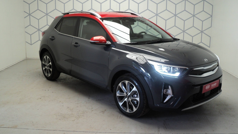 Kia Stonic Stonic 1.0 T-GDi 100ch MHEV iBVM6 Launch Edition 5p Gris occasion à Cahors