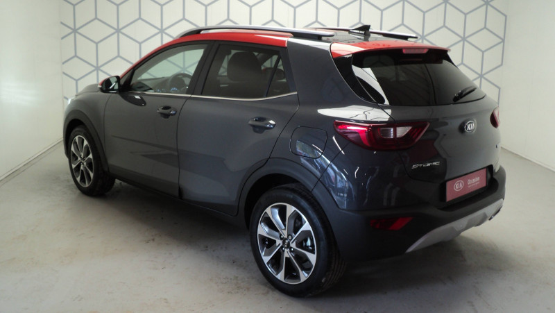 Kia Stonic Stonic 1.0 T-GDi 100ch MHEV iBVM6 Launch Edition 5p Gris occasion à Cahors - photo n°6