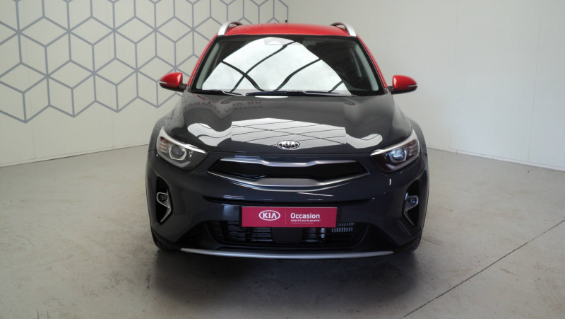Kia Stonic Stonic 1.0 T-GDi 100ch MHEV iBVM6 Launch Edition 5p Gris occasion à Cahors - photo n°2