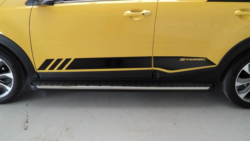 Kia Stonic Stonic 1.0 T-GDi 120 ch ISG BVM6 Premium 5p Jaune occasion à Cahors - photo n°9