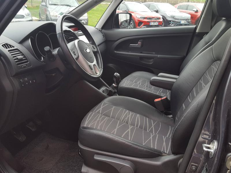 Kia Venga 1.6 CRDi 115ch Premium ISG Gris occasion à Quimper - photo n°6