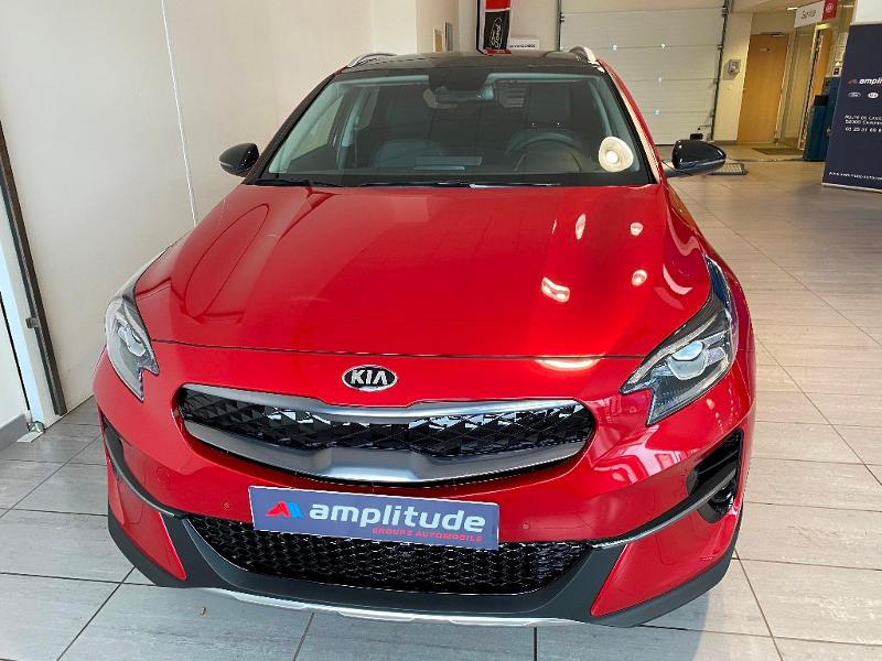Kia XCeed 1.6 GDi 105ch + Plug-In 60.5ch Design DCT6 Rouge occasion à Chaumont - photo n°2