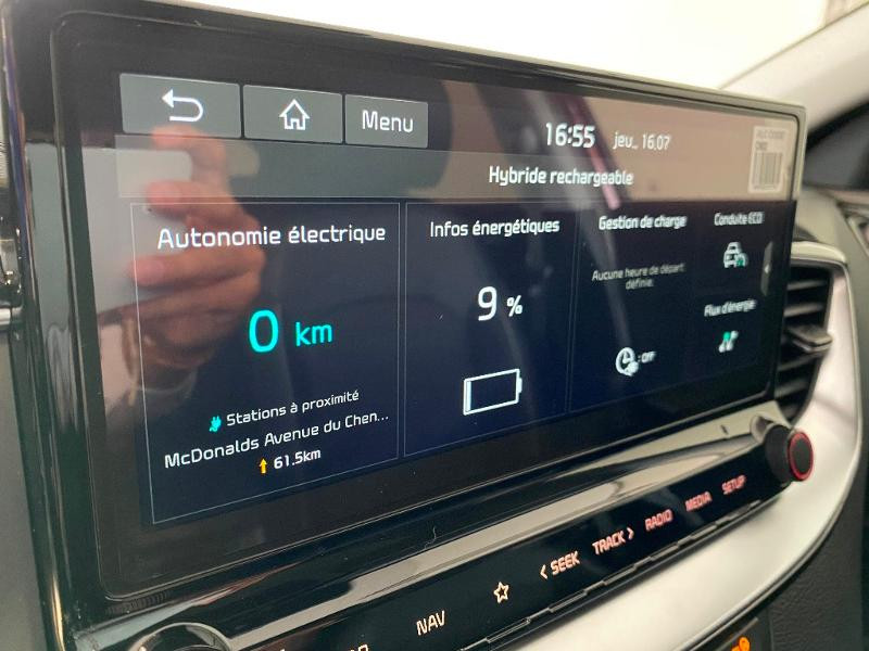 Kia XCeed 1.6 GDi 105ch + Plug-In 60.5ch Design DCT6 Rouge occasion à Chaumont - photo n°16
