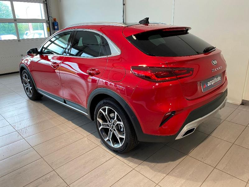 Kia XCeed 1.6 GDi 105ch + Plug-In 60.5ch Design DCT6 Rouge occasion à Chaumont - photo n°4